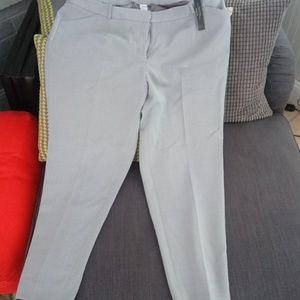 NEW Tahari Gray pants size 18